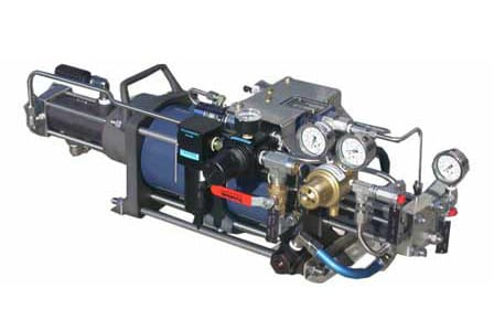 Gas Booster (Air or Gas Driven)
